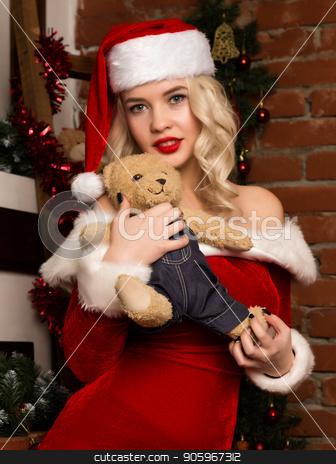 Hot christmas girl santa apologise