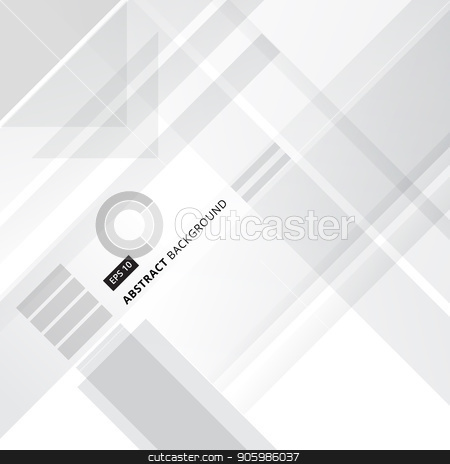 Abstract grey and white technology geometric shape corporate design background, Vector stock vector clipart, Abstract grey and white technology geometric shape corporate design background, Vector illustration by phochi
