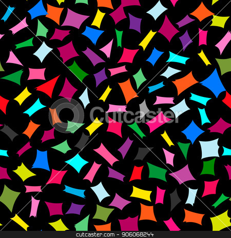 Abstract bright colorful seamless element pattern. stock vector clipart, Abstract bright vector colorful element seamless pattern. by Tanya  Golovanova