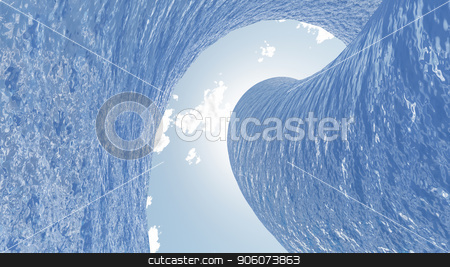 Ocean Wave stock photo, Ocean Wave Illustration by Bruce Rolff