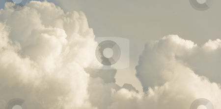 Mass of rolling clouds stock photo, Mass of rolling clouds by John Teeter