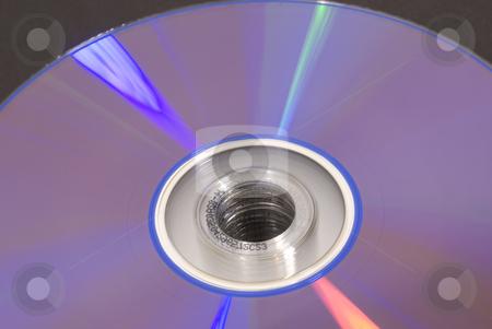 Cd DVD close up stock photo, Close up of cd dvd by John Teeter