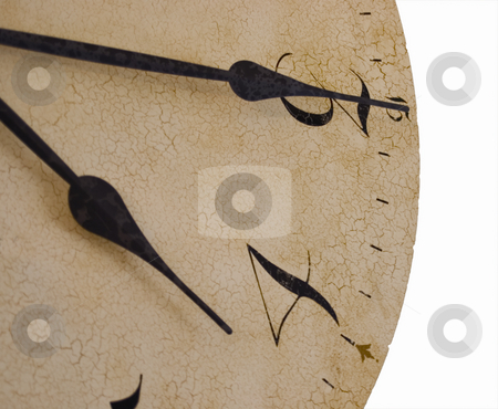 Olden clock  stock photo, Olden clock at four fifteen by John Teeter