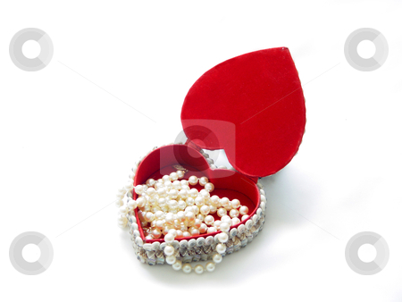 Heart Of Pearls stock photo, Your pearl in my heart by Jack Schiffer