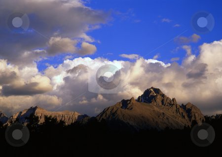 Mt. Sneffels Colorado stock photo, Mt. Sneffels in the Uncompahgre National Forest, Colorado. by Mike Norton