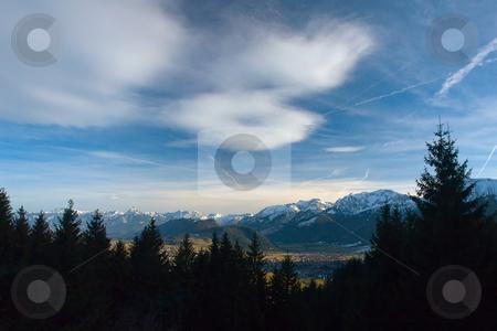 In the Allgaeu, Bavaria, Alps, Germany, Europe stock photo, Blick vom H???ndleskopf in Pfronten auf die Allg???uer Alpen by Wolfgang Heidasch
