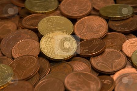 Kleingeld stock photo, Euro M?nzen by Wolfgang Heidasch