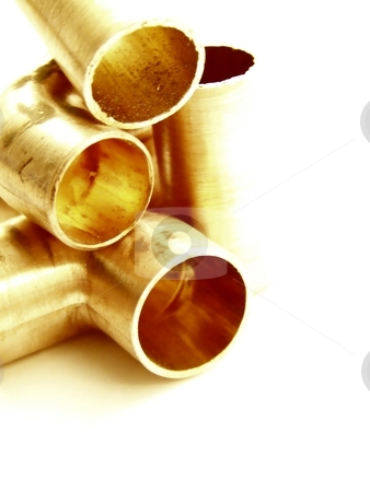 Metal Tubes stock photo,  by Jill Oliver