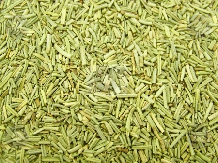 Dried Rosemary stock photo, Detailed image of dried rosemary. by Jill Oliver