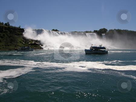 Niagara Falls stock photo, Niagara Falls (border of USA by Ritu Jethani