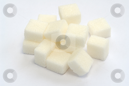 Sugar cubes stock photo,  by Wolfgang Heidasch
