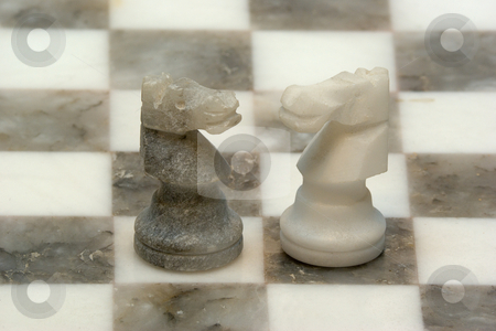 Schachspiel stock photo, Schach (von persisch: Schah, f?r  by Wolfgang Heidasch