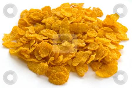 Corn Flakes stock photo, Corn Flakes by Wolfgang Heidasch