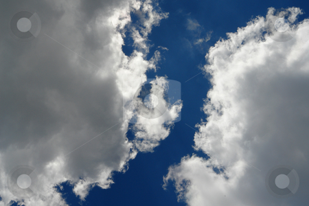 Clouds stock photo, Urlaub Pfingsten 2006 Hinterglemm ???sterreich by Wolfgang Heidasch