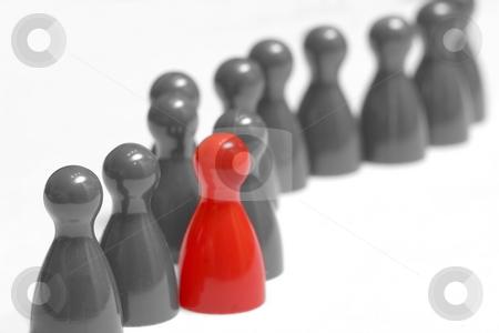 Die rote Garde colorkey stock photo, Die rote Garde colorkey by Wolfgang Heidasch