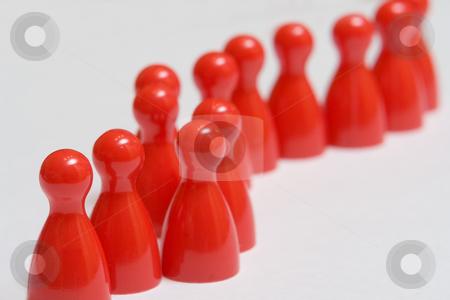 Die rote Garde stock photo, Die rote Garde by Wolfgang Heidasch
