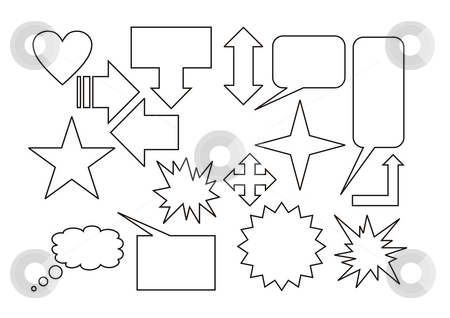 Signs and symbols stock photo, A illustration of a batch of signs by Markus Gann