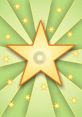 Stars stock photo, A illustration of a colored stars background by Markus Gann