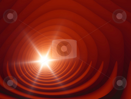 Red circles stock photo, A illustration of a red circles background by Markus Gann