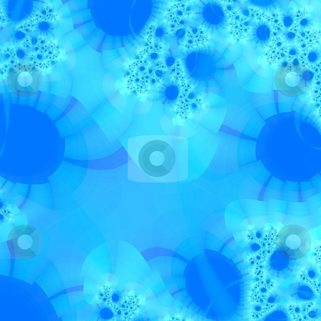 Fractal background graphic stock photo, An illustration of an abstract fractal graphic by Markus Gann