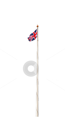 Union jack flag stock photo, A photography of the union jack flag of uk by Markus Gann