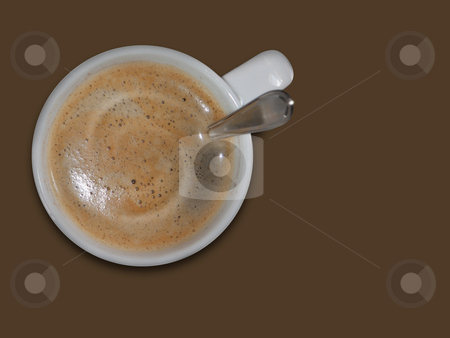 Coffee stock photo, A photography of a white cup of coffee by Markus Gann