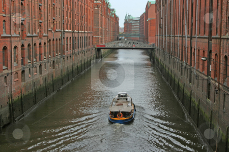 Hamburg stock photo, A photography of the old city hamburg by Markus Gann