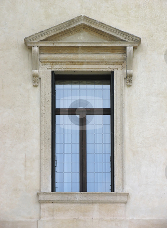 Italian window stock photo, A photography of an old italian window by Markus Gann