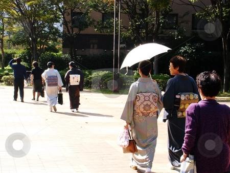 Kimono  stock photo,  by E Tsukamoto