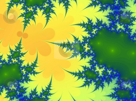 Organic fractal stock photo, An illustration of an abstract fractal graphic. by Markus Gann