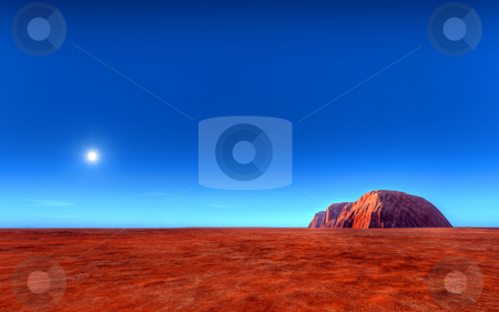 Uluru - Ayers Roch Australia stock photo, An illustration of the Uluru - Ayers Rock Australia by Markus Gann