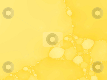 Bright yellow fractal stock photo, An illustration of an abstract fractal graphic. by Markus Gann