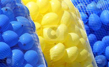 Colored Balloons stock photo,  by Kjell Westergren