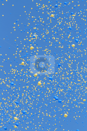 Balloons stock photo, Balloons in the sky by Kjell Westergren
