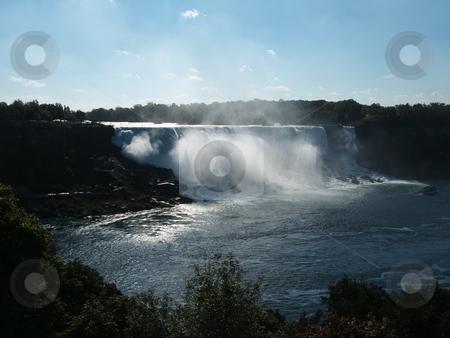 Niagara Falls stock photo, Niagara Falls scene Canadian side by CHERYL LAFOND