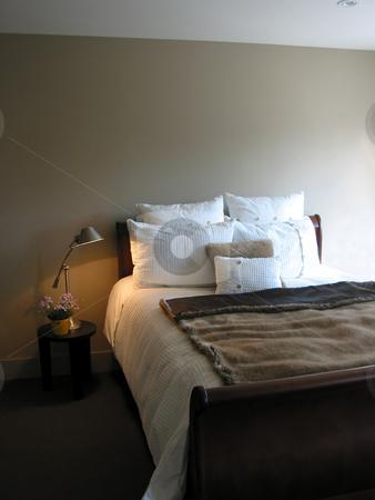 Bedroom interior stock photo, Modern bedroom interior by Elena Elisseeva