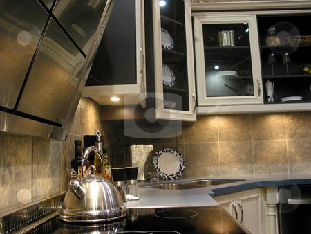 Modern kitchen stock photo, Interior of a modern kitchen by Elena Elisseeva