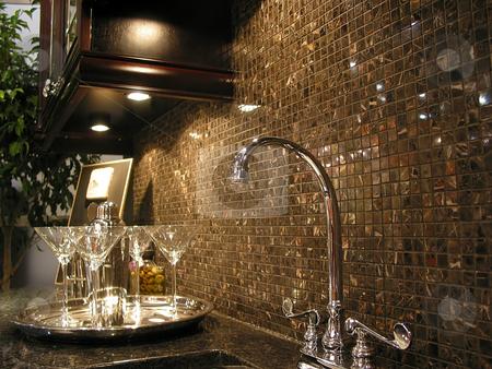 Modern kitchen stock photo, Modern kitchen interior by Elena Elisseeva