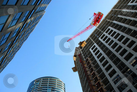 Urban development stock photo, Urban development downtown by Elena Elisseeva
