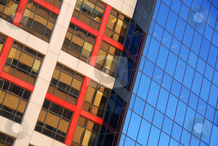 Modern office buildings stock photo, Modern office buildings, urban architectural abstract by Elena Elisseeva