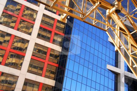 Modern office buildings stock photo, Fragment of modern office buildings, urban architectural abstract by Elena Elisseeva