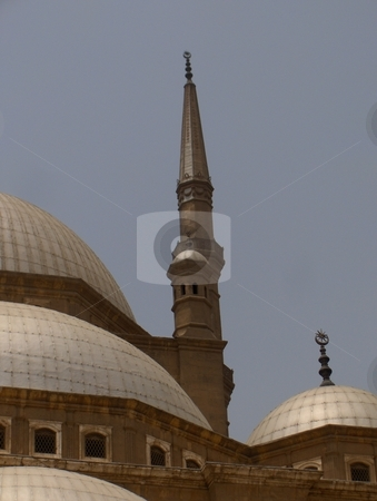 Mosque Detail  stock photo, A close up of a mosque in Cairo, Egypt. by Jessica Tooley