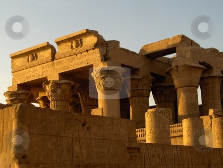 Kom Ombo stock photo, Kom Ombo temple in Egypt. by Jessica Tooley