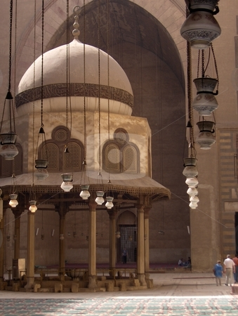 Madrassa stock photo, A mosque and school in Cairo, Egypt. by Jessica Tooley