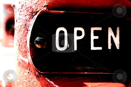 Open stock photo, An