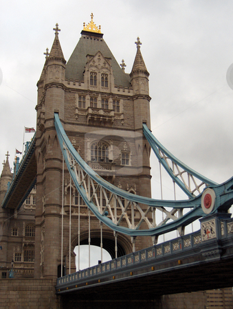 Tower Bridge stock photo, Tower Bridge, a landmark in London, England. by Jessica Tooley