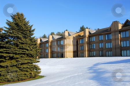 Resort stock photo, New building of a shared accomodation resort by Elena Elisseeva