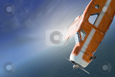 Plane Stall stock photo, A small plane stalled and going into a nose dive by Richard Nelson
