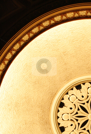 Fixturated stock photo, Fancy ceiling light fixture from a concert hall. by Nathan Smith