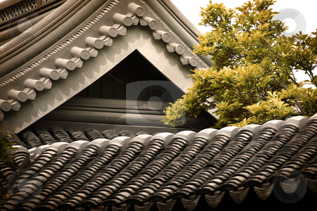 Pagoda Peak stock photo, Intricacy of asian architecture. by Nathan Smith